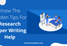 Know The Golden Tips For Research Paper Writing Help