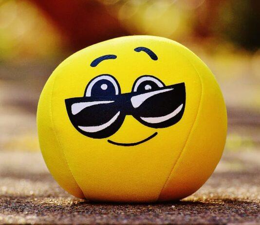 Yellow Emoji Ball