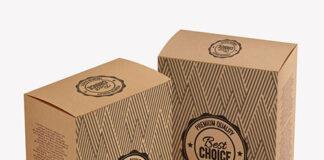 custom printed Kraft boxes and packaging