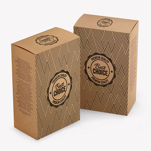custom printed Kraft boxes and packaging
