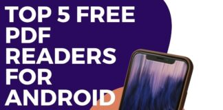 Top 5 Free PDF readers for android