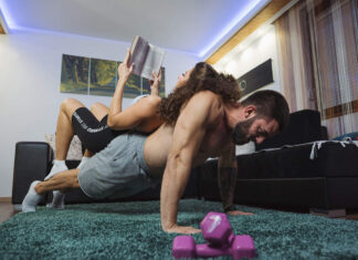 Can an intimate session replace exercises?