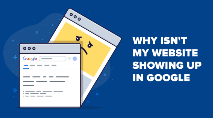 Why my website is not showing in Google?