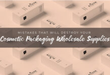 Mistakes That Will Destroy Your Cosmetic Packaging Wholesale Supplies
