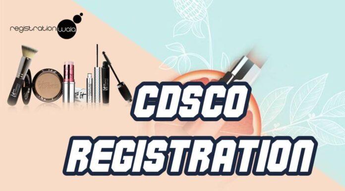cdsco certificate