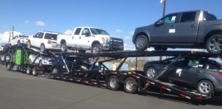 Vehicle transport in California