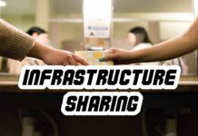 Infrastructure sharing in a possible way.