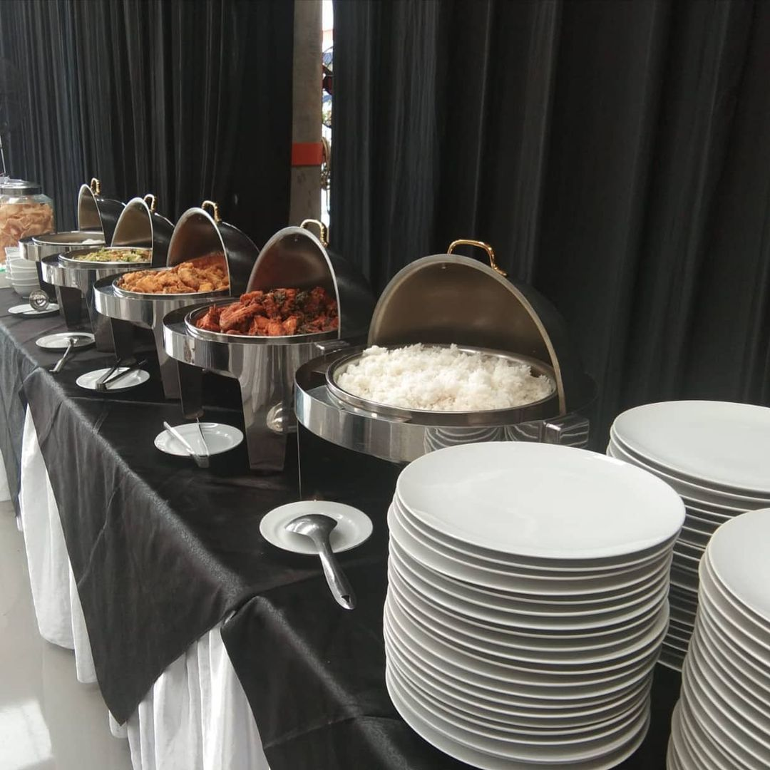 Type of Buffet Catering Presentation