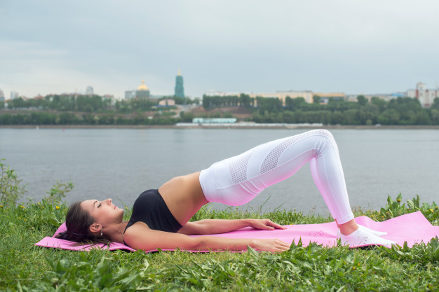 Yoga Pose for Anxiety and Stress