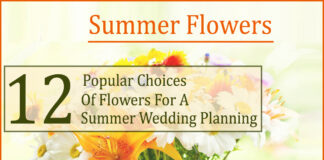 summer flowers- 12 Popular Choices of Flowers For A Summer Wedding Planning