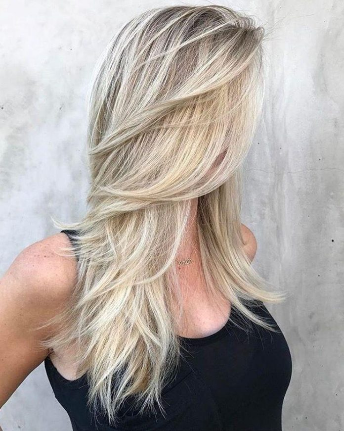 Windswept Layers For Long Hair
