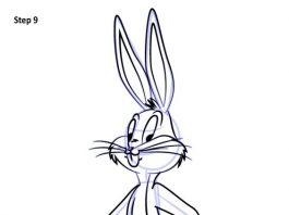Bugs Bunny Drawing