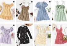 Zaful print dresses discount code