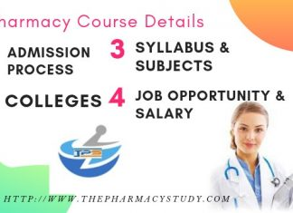 B Pharmacy Course Details