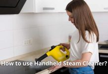 How to use Handheld Steam Cleaner